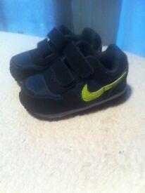Baby Nike trainers 3.5uk