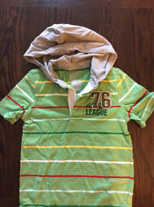 Old Navy Boys hooded shirt