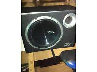 vibe sub bulit in amp