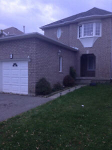 FULL Three Bedroom DETACHED House for Rent!
