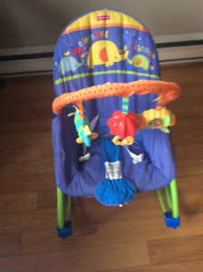 chaise bercante fisher price et bain