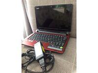 Acer Aspire One netbook/notebook/laptop Windows 7 starter