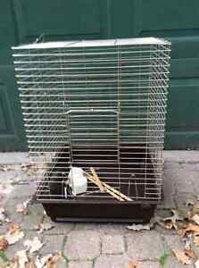 Bird cage for rehoming