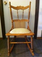 Vintage rocking chair- great nursery accent chair!