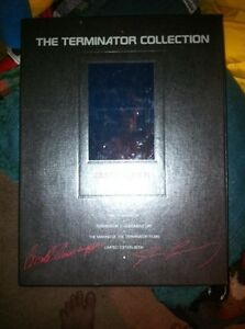 Terminator VHS collectors edition 3 tapes