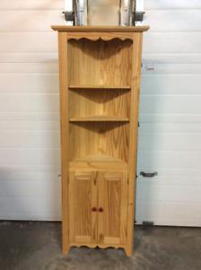 Corner Hutch/Display Cabinet.