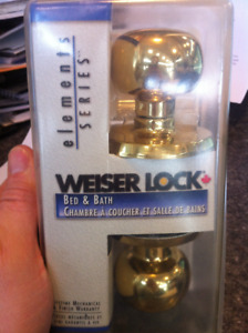 WEISER LOCK SETS (NEW)