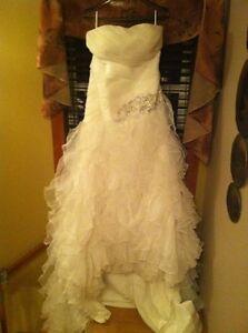 Beautiful wedding dress size 14