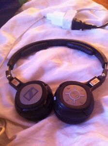 Seinheiser Bluetooth headphones/headset with mic Peterborough Peterborough Area image 1