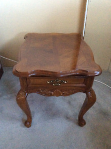 Quality made end table