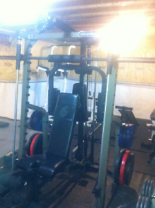 Full Home Gym and Weights