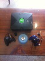 original Xbox with 18 games