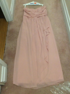 Strapless Long Dress from David's Bridal