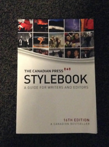 The Canadian Press Stylebook - 16th edition