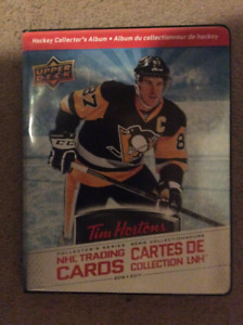 2016-17 Tim Horton master set hockey cards