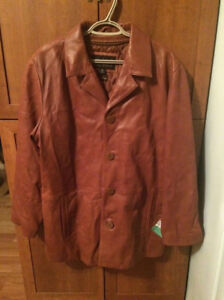 Brand New Wilson's Italian Leather Jacket