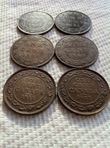 Three Reigns of Large Pennies