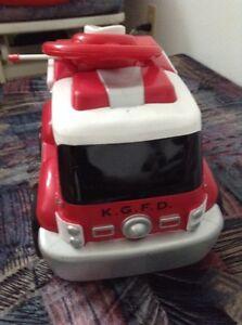 Camion de pompiers téléguidé