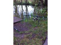 Jrc defender carp rods
