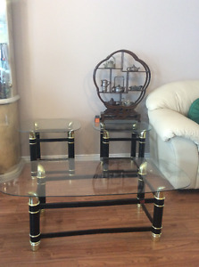 coffee table with two ends, good condition