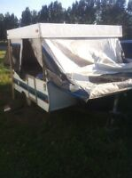 Project tent trailer