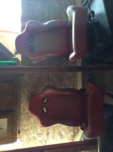 Pair of racing seats and Harness
