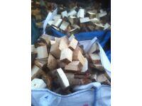 Seasoned hard wood logs