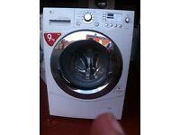 Wash machine LG 9kg offer sale for £140 with waranty