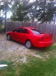 2003 Honda Civic Coupe (2 door),one owner low kms