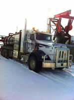 Hire ME- Exp. DZ driver /ice road/off road/oil rig/refinery