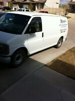 Carpet, Upholstery, Detailing, Steam Cleaning Van For Sale
