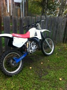 1987 yz 125 with parts bike
