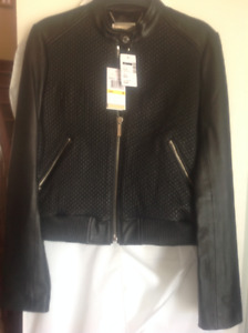 Michael Corse ladies  leather jacket