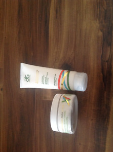 Arbonne body polish and body butter