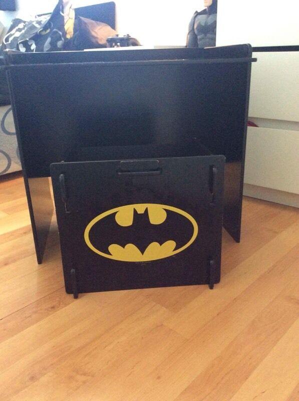 Batman Desk And Stool Set In Thornhill Cardiff Gumtree