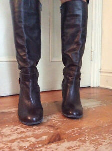 Leather fashion boots - great condition - just reduced price Gatineau Ottawa / Gatineau Area image 2