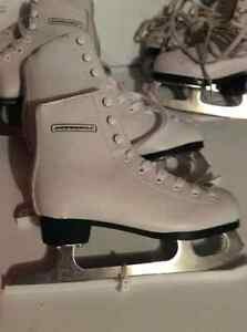 Girls Figure Skates, size 9(10$) 10(10$) and 12($15)