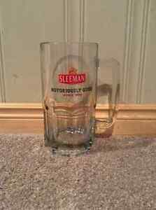 Sleeman beer large glass mug Kitchener / Waterloo Kitchener Area image 1