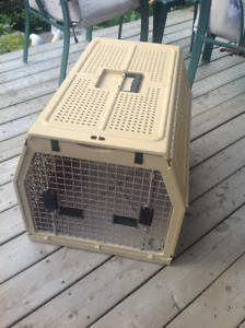 Large foldable animal crate