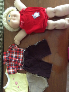 Cabbage Patch Doll with Clothes