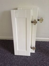 Vanity unit doors