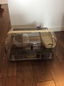 Hamster cage and accessries