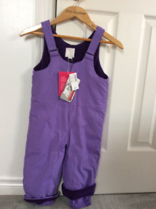Girls snow pants new sz2 The Children's Place  new