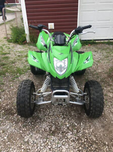 2015 Arctic Cat DVX 300 (barely used)