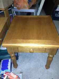 Solid wood side table for sale London Ontario image 2