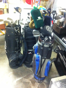Golf Clubs - 3 sets FREE