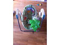 Baby rainforest rocking chair