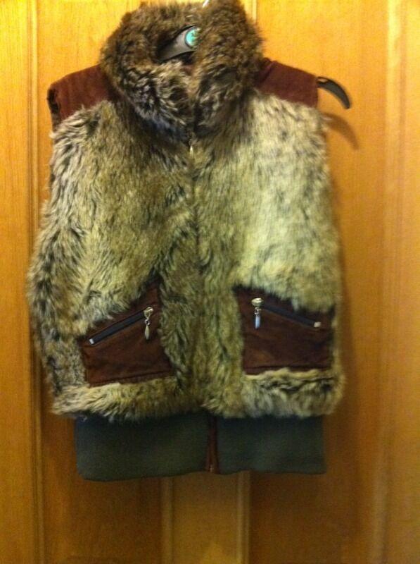 Fluffy waistcoat size 12