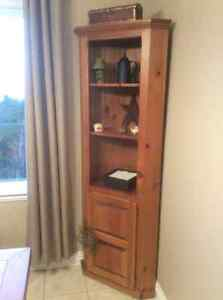 Corner hutch for sale.
