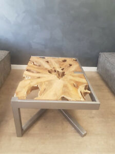 Custom Made Teak Wood Tables
